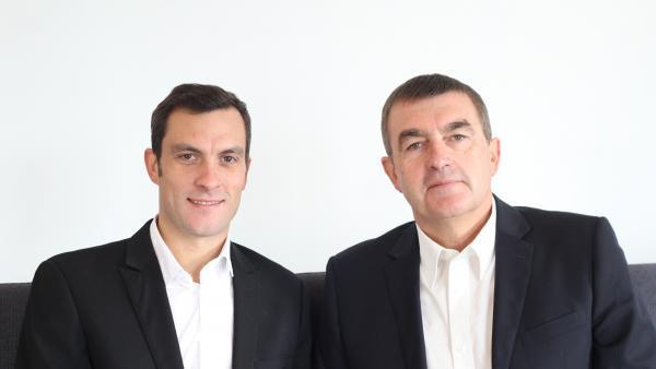 Adrien Jocteur Monrozier et Jacques Burtin, directeurs associés d'Inside Management.