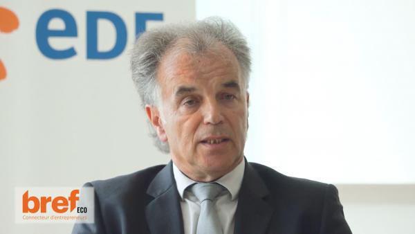 Jacques Longuet, directeur régional EDF.