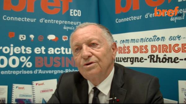 Jean-Michel Aulas, président d'OL Groupe. - bref eco
