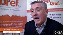 Interview de Jean Paul Genoux, dirigeant cofondateur du groupe Dimo Software