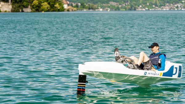 JetCycle surfe sur la vague des activités nautiques