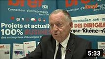Interview Brefeco de Jean-Michel Aulas -  Président de l'OL Groupe pour Entreprise du Futur