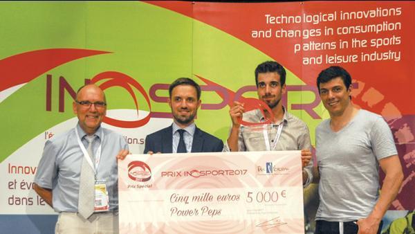 La remise de Prix Inosport 2017.