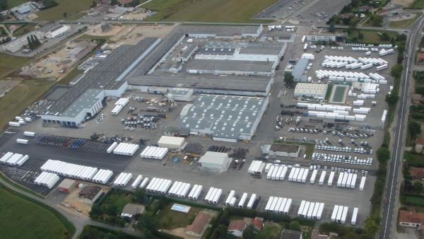 La crise économique n'a pas freiné l'élan de Lamberet, dont le site de Saint-Cyr-sur-Menthon connaîtra une extension prochaine.