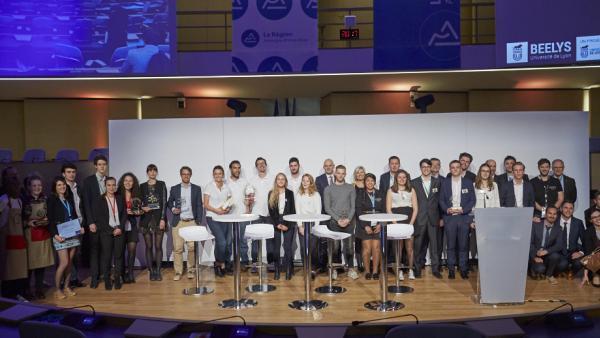 Les lauréats de la 14e édition des concours Campus Création.