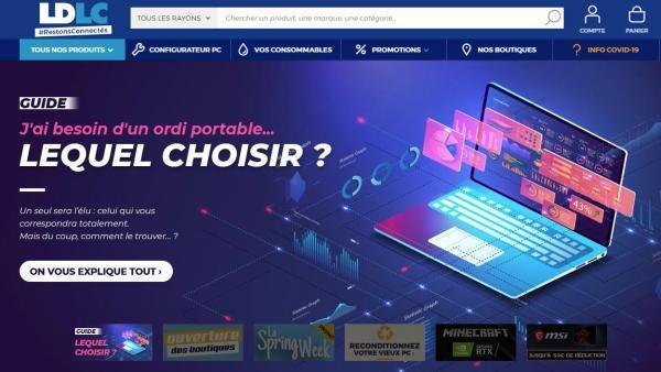 Site LDLC, brefeco.com