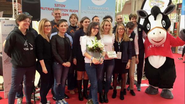 Hästko a été distinguée sur le salon Equita Lyon - Bref Eco