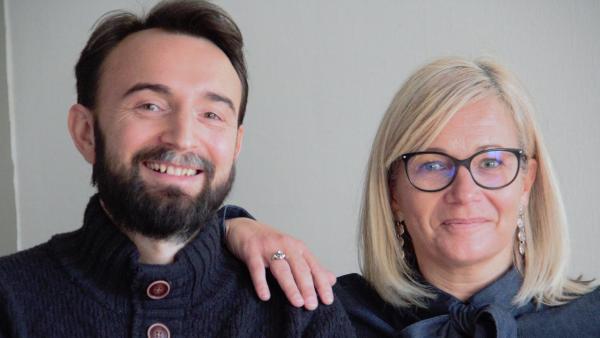 Sophie Michalet et Olivier Muret