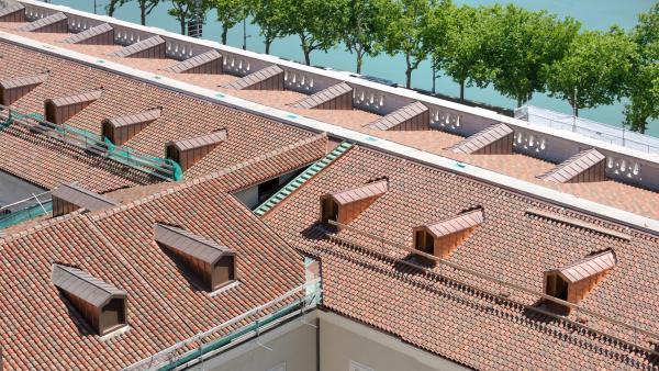 Les toitures de l'Hôtel Dieu restaurées