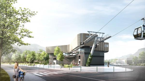 Un nouveau téléphérique urbain bientôt opérationnel à Grenoble