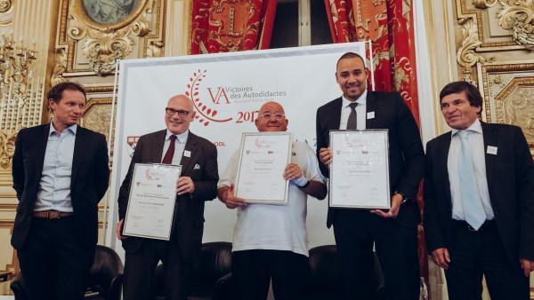 Yves Bontaz, lauréat régional des victoires des autodidactes 2017