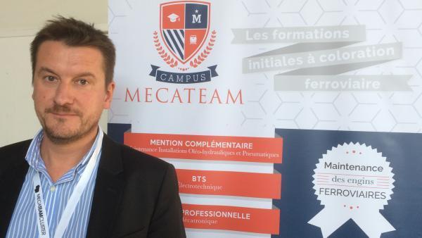 Frédéric Debleds, directeur général de Mecateam Cluster.