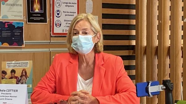 Michèle Cottier, présidente de l'Université Jean Monnet - bref eco