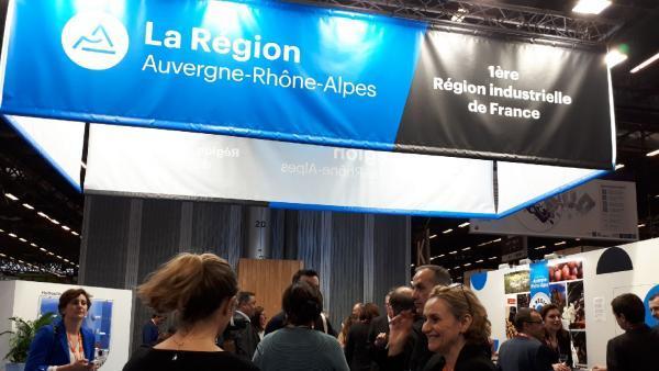 Les sous-traitants régionaux en force à Paris!