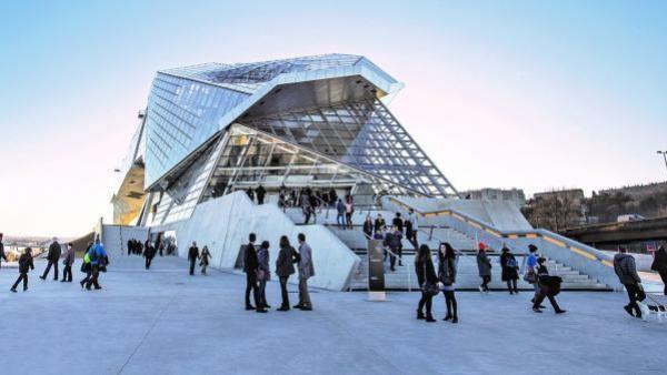 Musée des Confluences - bref eco