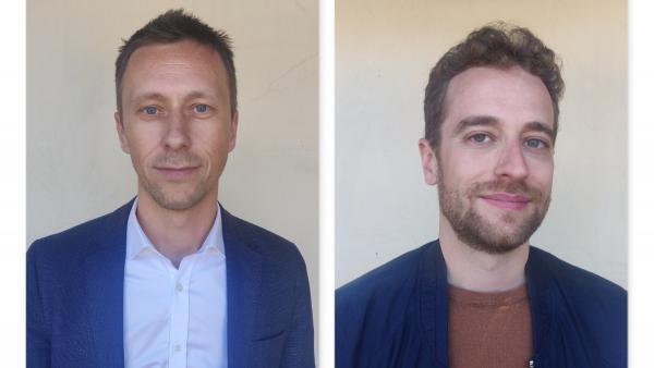 Xavier Deshayes et Jérémy Adoux, brefeco.com