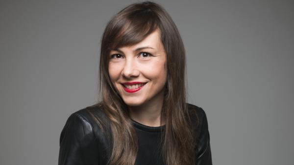 Julie Huguet, présidente de Coworkees.