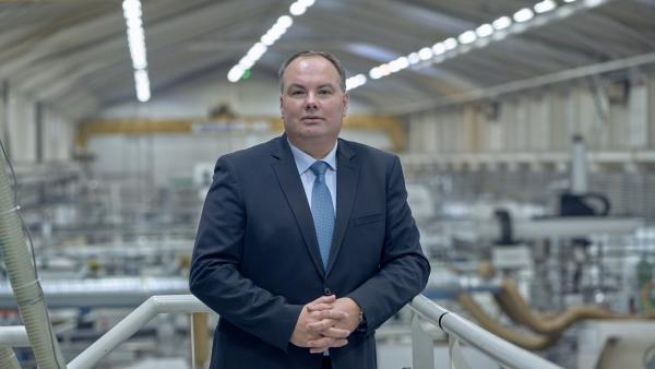 Mathieu Coutier représente la deuxième génération aux commandes de l'équipementier automobile.