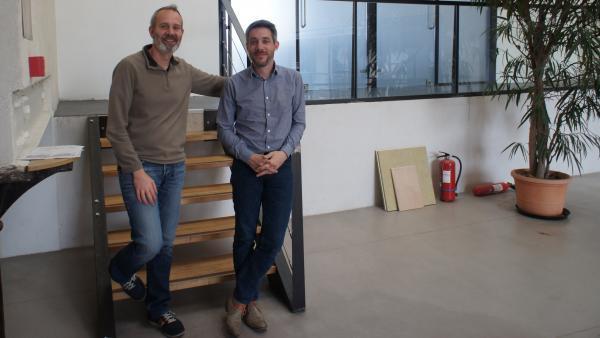 Cédric Gros et Nicolas Bravin,