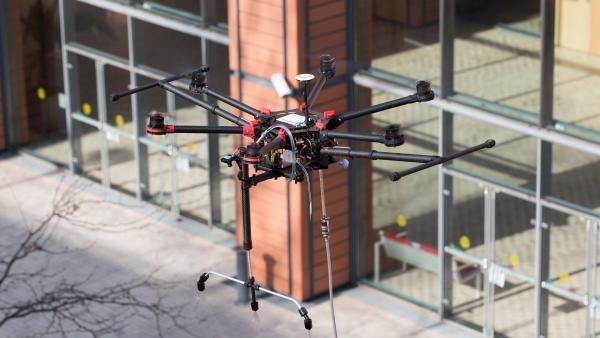 Drone de nettoyage