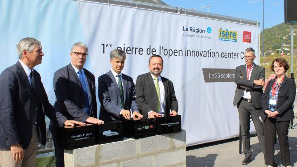 L'Open innovation center du CEA dans la cour des grands