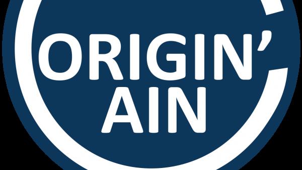 Le logo du label Origin'Ain. - bref eco