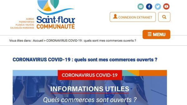 Saint-Flour Communauté organise les achats locaux en ligne