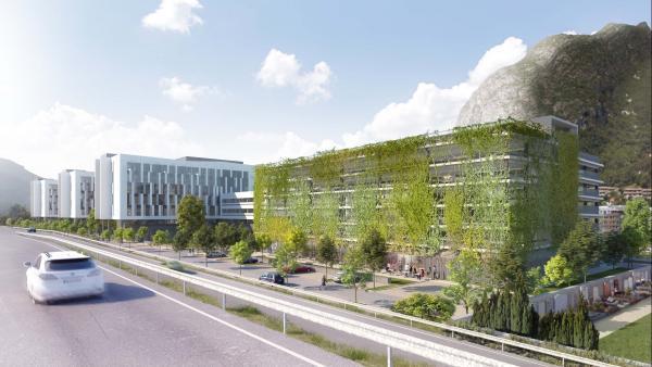 Pôle hydraulique d'EDF à Grenoble