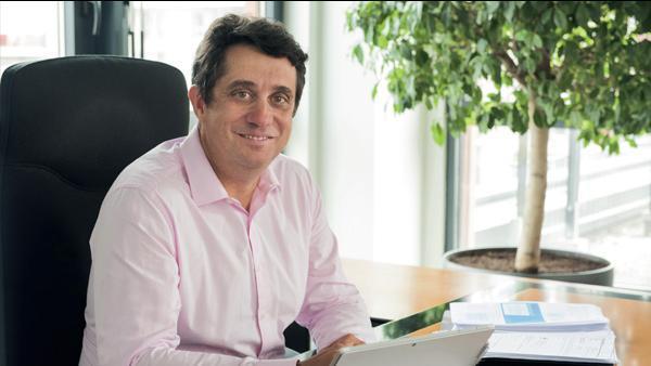 Pascal Blain, directeur de Pôle emploi Auvergne-Rhône-Alpes.