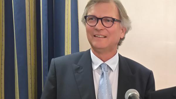Patrice Fontenat (57 ans) a été élu président de la CCI de l'Ain.