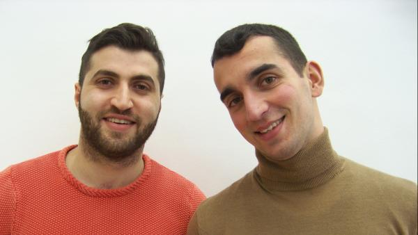 Serge Haroutiounian et Grégory Giovannone, créateurs de PermiGo