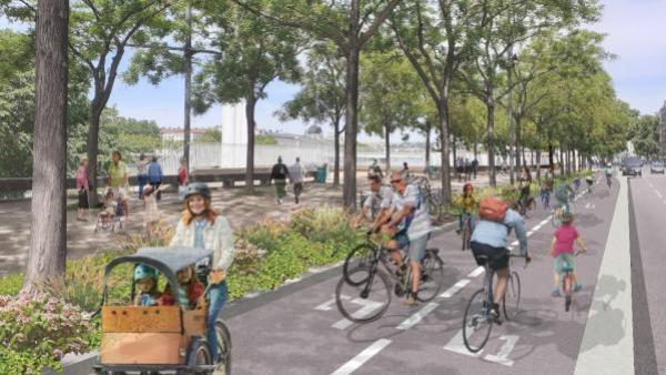 Lyon en pole position des villes-vélos