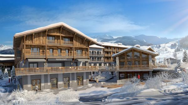 Megeve accueille le premier Novotel des Alpes.
