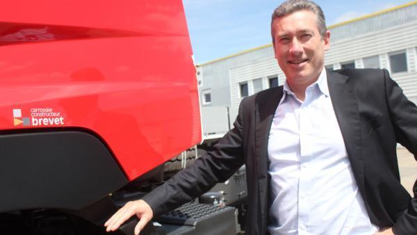 Philippe Verne, PDG de Brevet SA, et codirigeant du futur groupe Toutenkamion-Brevet.