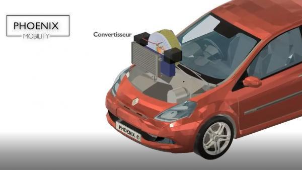Phoenix Mobility dans le rétrofit de véhicules thermiques