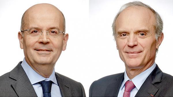 Yves Chapot et Florent Menegaux  - michelin