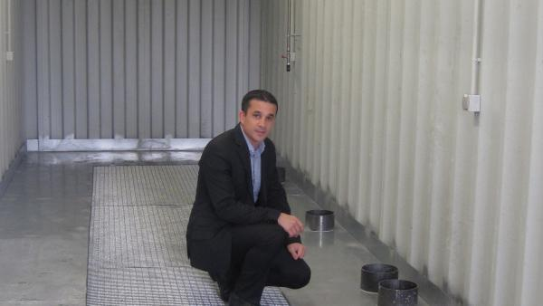 Fabien Sikirdji, dirigeant d'Optym-HA.