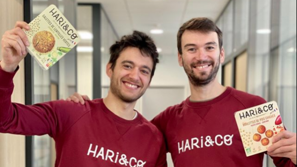 Emmanuel Brehier et Benoît Plisson compte bien implanter Hari&Co dans 2.000 points de ventes en France.