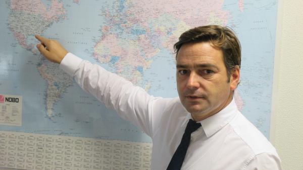 Olivier Jallabert, Pdg d'Amplitude Surgical.