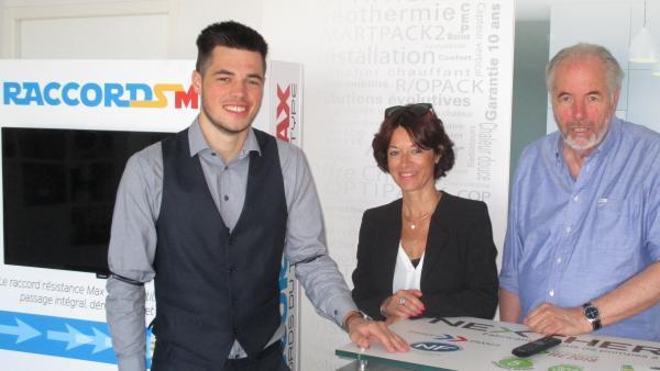 Maximilien, Christine et Jean-Luc Barrault de Nextherm - bref eco