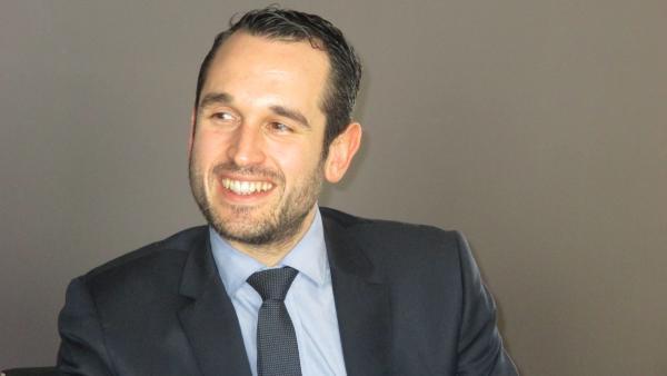 Pierre Jouvet, le président de la communauté de communes Porte de DrômArdèche.