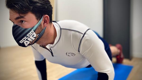 Boldoduc crée un masque pour les sportifs