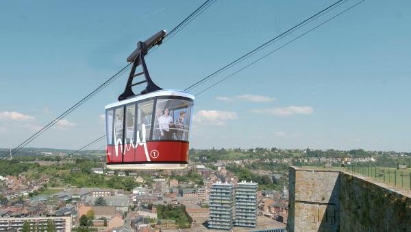 MND installe un téléphérique en Belgique et se réorganise