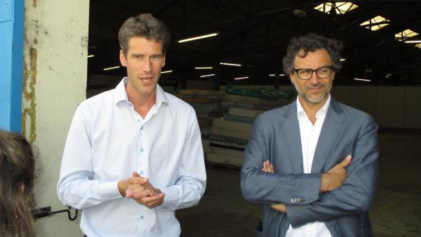 Timothée Coisne (Decondly) et Emery Jacquillat (Camif Matelsom), brefeco.com