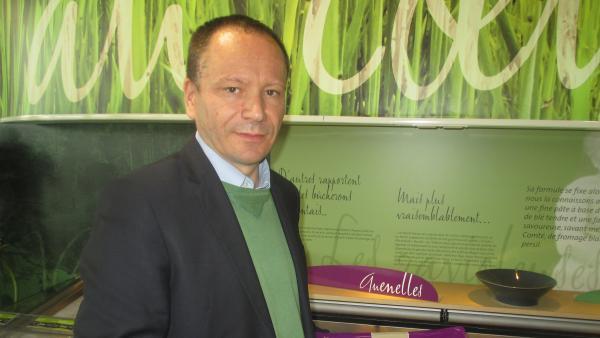 Guillaume Blanloeil, le directeur général de Saint-Jea brefeco