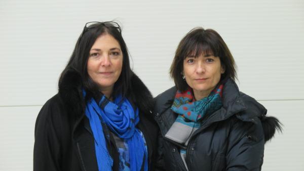 Patricia Blondeau et Joëlle Daumas , les deux dirigeantes d'Ugigrip.