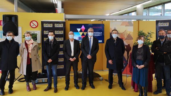 Campus de la métropole grenobloise: le Pôle de l'éducation est en route