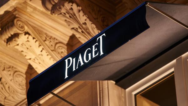 Icona d'or 2016 : Store lumineux en fibre optique conçu par Lenoir Services pour la marque Piaget