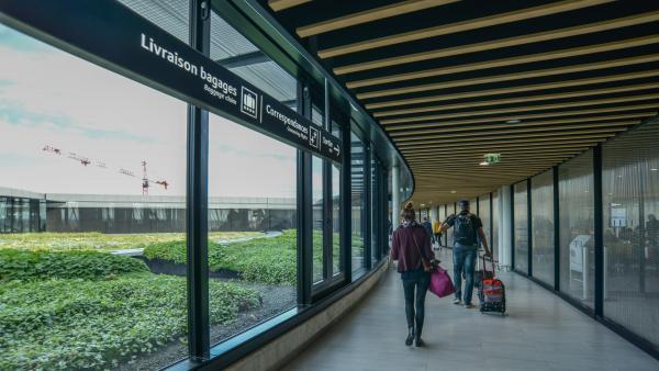 aéroport Lyon-Saint Exupéry bref eco