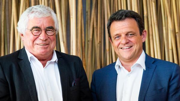 Christian Donzel et Laurent Fiard - visiativ - entrepreneur de l'année - bref eco